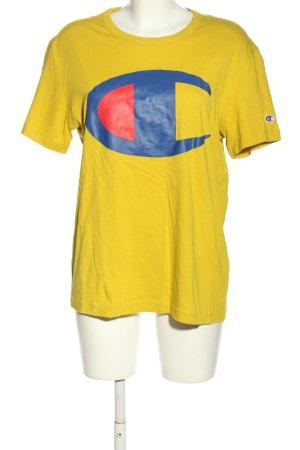 Champion Koszulka z nadrukiem Nadruk z motywem W stylu casual
