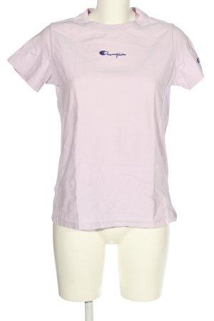 Champion Koszulka z nadrukiem fiolet W stylu casual