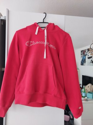 Champion Hooded Sweater red