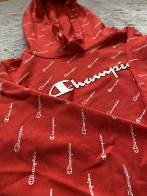Champion Hooded Sweater red-white