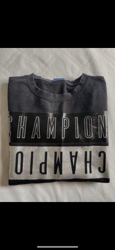 Champion Pull ras du cou noir-argenté