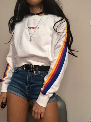 Champion Cropped Jumper white