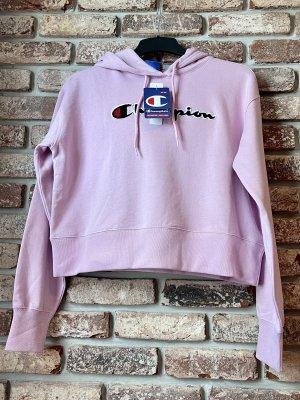 Champion Pull à capuche rose coton