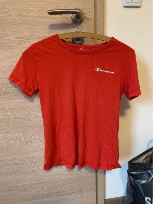 Champion T-shirt baksteenrood