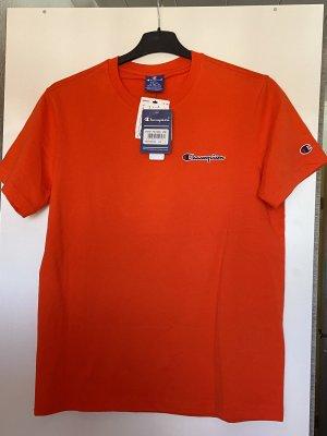 Champion T-shirt rosso-arancione