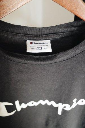 Champion T-shirt czarny
