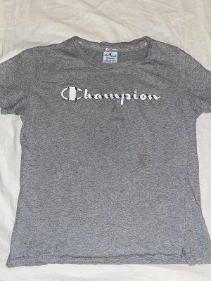 Champion Shirt grau M