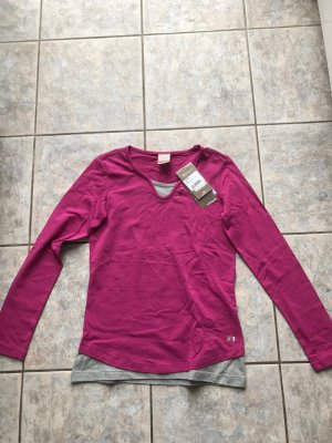 Champion Sweat Shirt light grey-raspberry-red