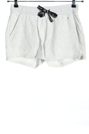 Champion Shorts light grey flecked casual look