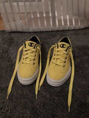 Champion Lace-Up Sneaker yellow-dark blue