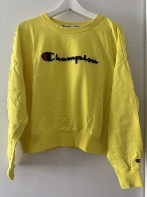 Champion Pull ras du cou jaune