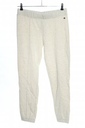 Champion Pantalone fitness bianco sporco puntinato stile casual