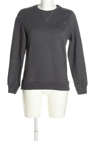 Champion Sweatshirt hellgrau Casual-Look