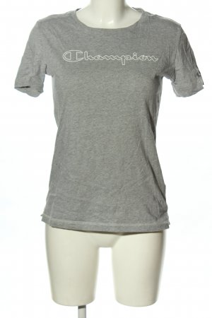 Champion T-Shirt light grey-natural white flecked casual look