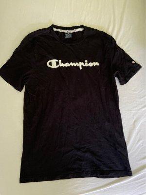 Champion T-shirt nero-bianco