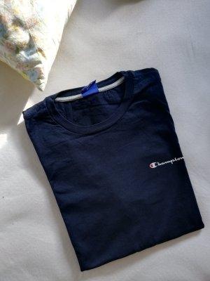 Champion T-shirt ciemnoniebieski