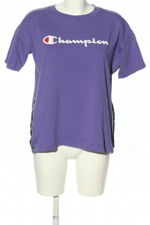 Champion T-Shirt Schriftzug gedruckt Casual-Look