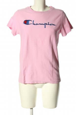 Champion T-Shirt pink Casual-Look