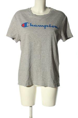 Champion T-shirt jasnoszary Melanżowy W stylu casual