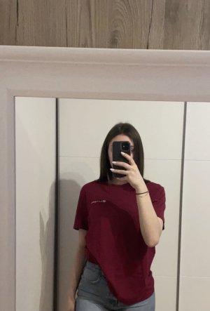 Champion Shirt basique rouge carmin-bordeau