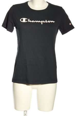 Champion T-Shirt black casual look