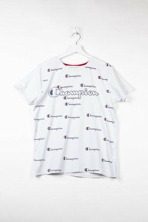 Champion T-Shirt in Weiß L