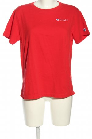 Champion T-shirt rosso stile casual