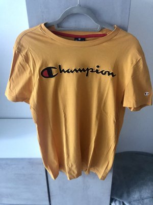 Champion T-Shirt S senfgelb