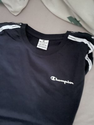 Champion T-shirt bleu foncé