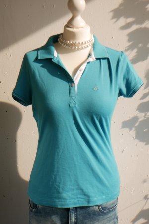 Champion: Türkisfarbenes Poloshirt, Größe M
