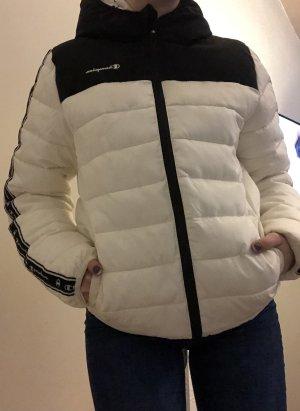Champion Veste d'hiver blanc-noir
