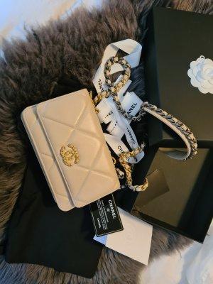 Chanel Wallet cream