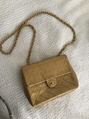 CHANEL 2.55 Classic Gold Vintage Original