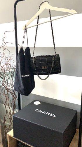 Chanel Borsa a spalla antracite-nero