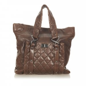 Chanel 8 Knots Lambskin Leather Tote Bag
