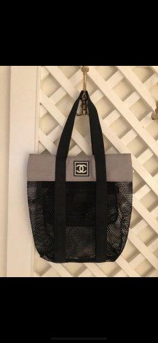 Chanel Shopper grey-black