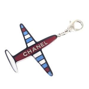 Chanel Porte-clés blanc
