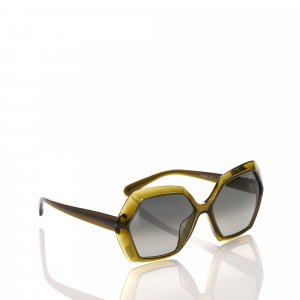 Chanel Angular Tinted Sunglasses