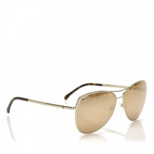 Chanel Aviator Tinted Sunglasses