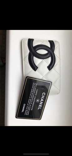 Chanel Card Case white-pink