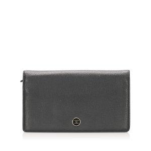 Chanel Bi-fold CC Leather Long Wallet