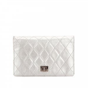 Chanel Bi-Fold Timeless Reissue Leather Long Wallet
