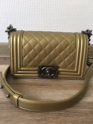 Chanel Boy Small Kaviar Leder Tasche