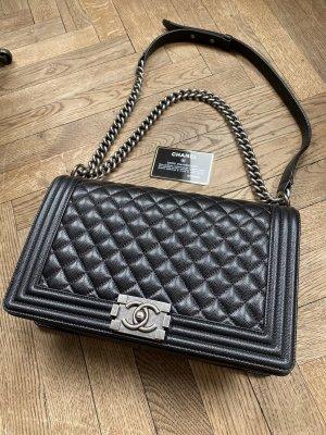 Chanel Boy Tasche large caviar leder
