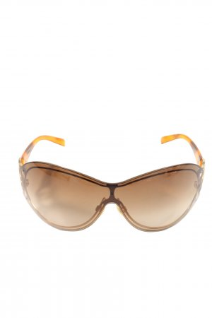 Chanel Brille braun-nude Casual-Look
