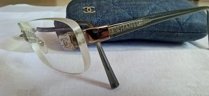 Chanel Gafas gris claro