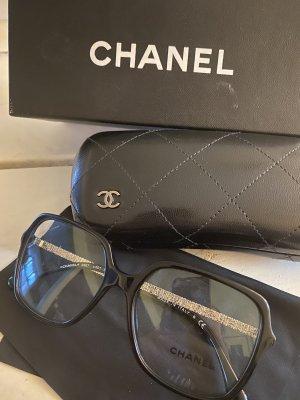 Chanel Bril zilver-zwart