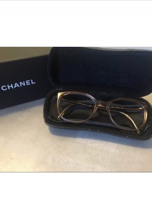 Chanel Lunettes or rose-marron clair