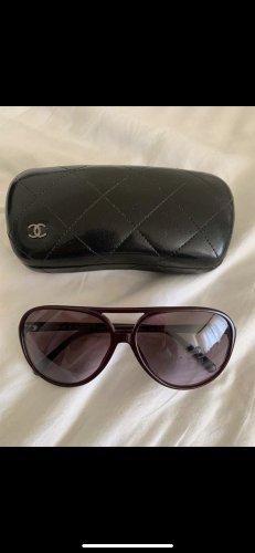 Chanel Occhiale rosso mora