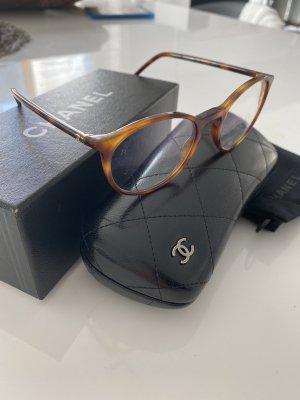 Chanel Bril lichtbruin-bruin